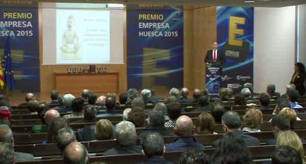 Conferencia inaugural en el Premio Empresa Huesca