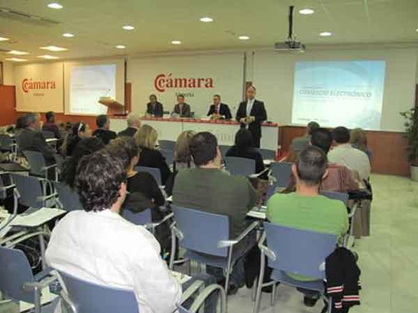Conferencia en la Cámara de Comercio de Almería