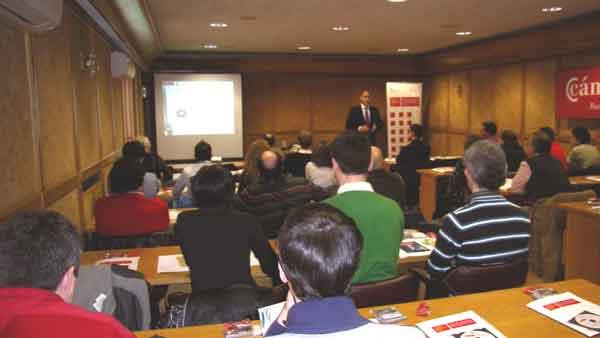 Conferencia en la Cámara de Comercio de Burgos