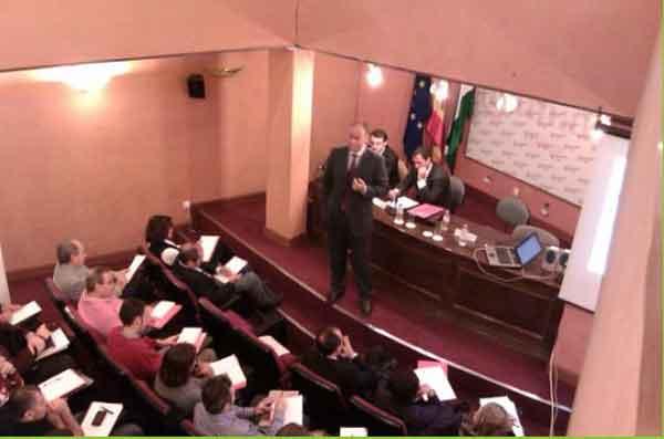 Conferencia en la Cámara de Comercio de Málaga