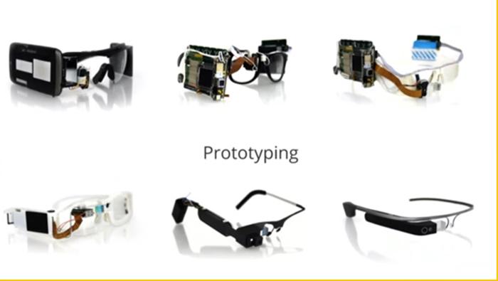 evolución de las google glass