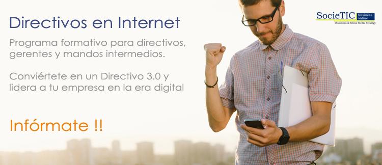 directivos en internet