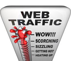 como aumentar el trafico a la web