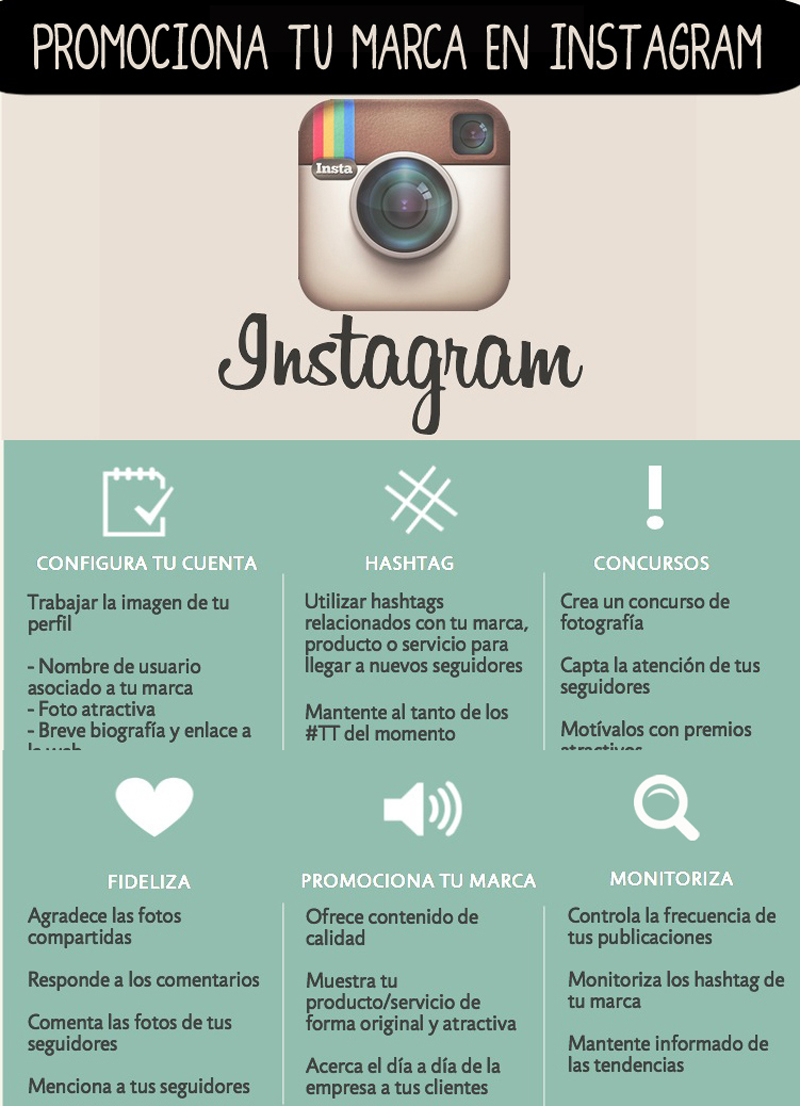 marketing en instagram infografia