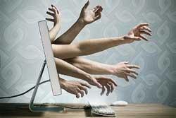 peilgros de las redes sociales