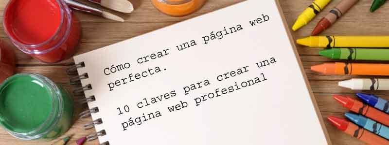página web perfecta