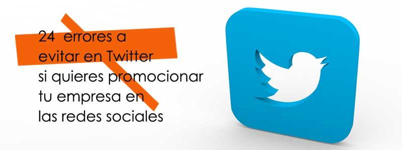 errores en twitter