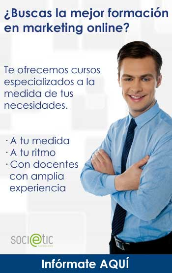 Formación en marketing online