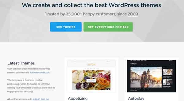 16 mejores plantillas para Wordpress gratis y de pago |