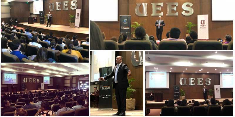 conferencia Alberto Alcocer en ecuador