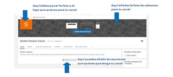 personalizacion de tu canal de youtube