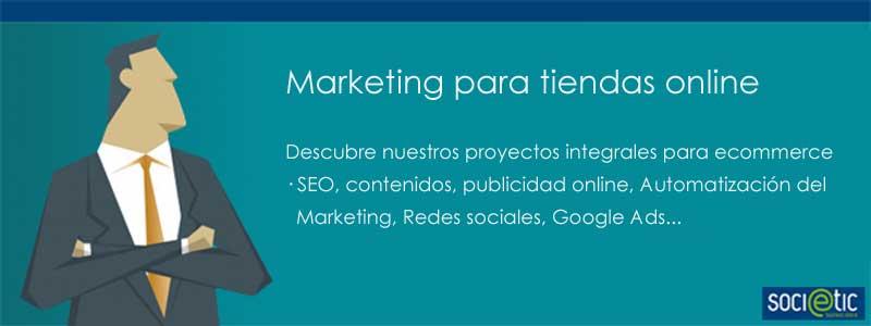marketing para tiendas online